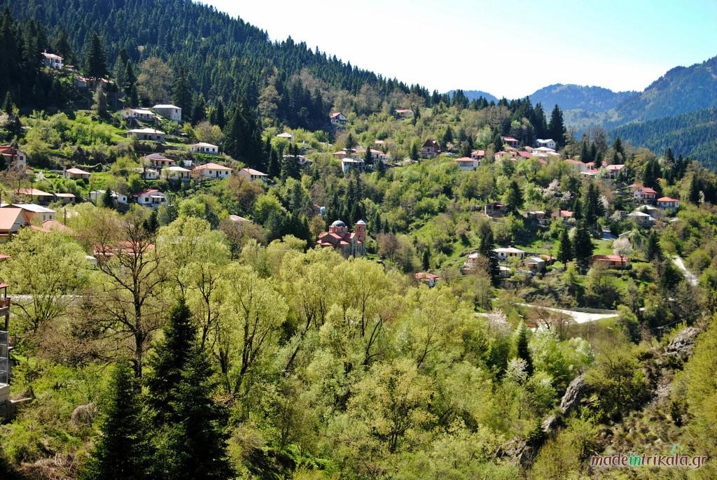 Χωριά του Ασπροποτάμου, Κρανιά Τρικάλων