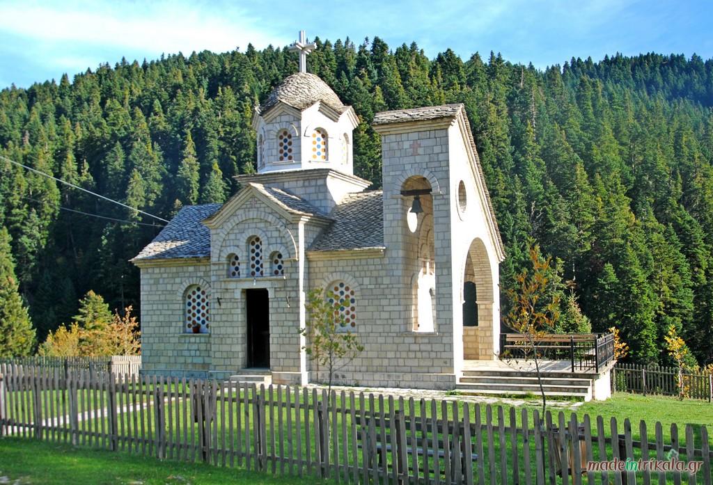 Ναός Κοιμήσεως της Θεοτόκου στο Περτούλι