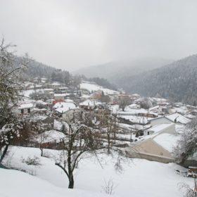 Ελάτη, Περτούλι, χιόνια