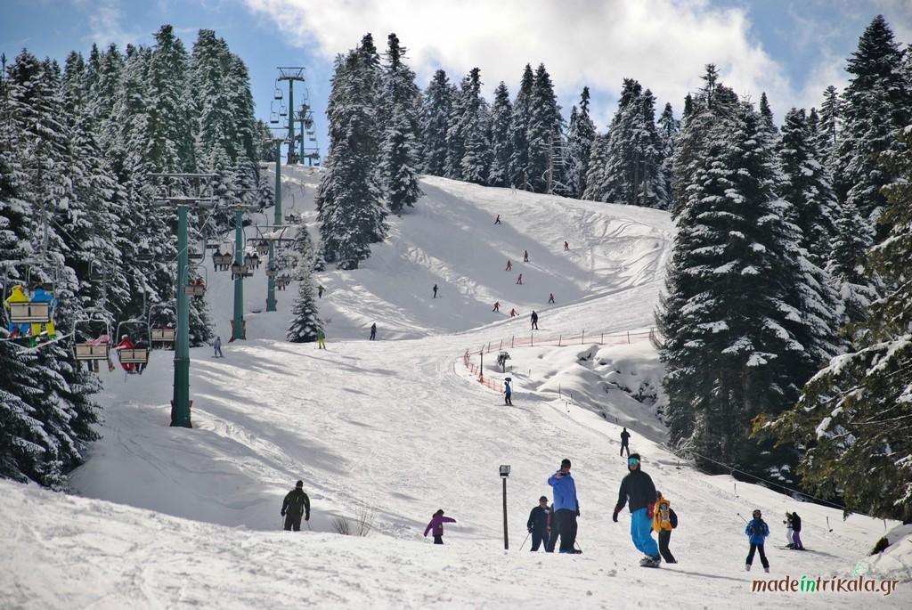 Χιονοδρομικό κέντρο Περτουλίου, κόκκινη πίστα