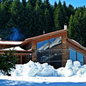 Ελάτη, Περτούλι, σαλέ χιονοδρομικού κέντρου Περτουλίου