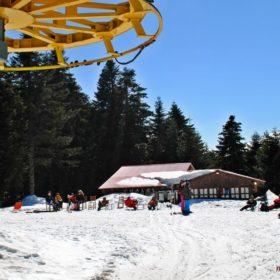 Ελάτη, Περτούλι, χιονοδρομικό κέντρο Περτουλίου, μικρό σαλέ