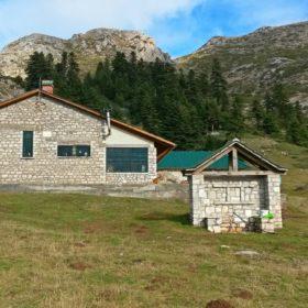 Ελάτη, Περτούλι, ορειβατικό καταφύγιο Κόζιακα