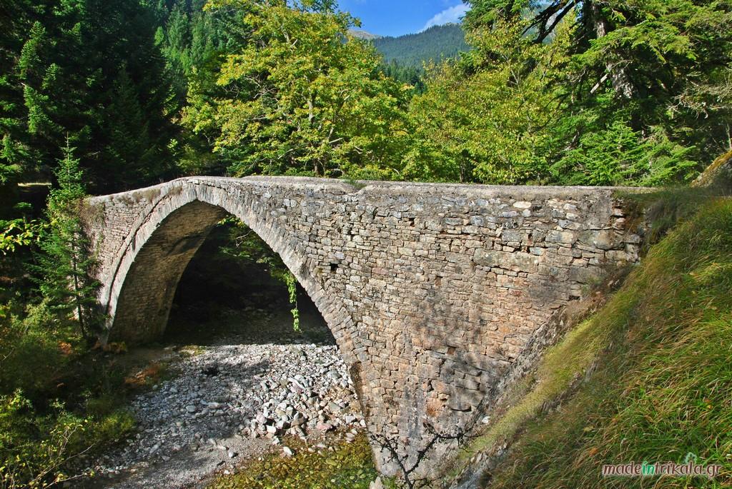 Γεφύρι Χατζηπέτρου, ένα από τα σημεία ενδιαφέροντος της περιοχής Ελάτη, Περτούλι, Νεραϊδοχώρι