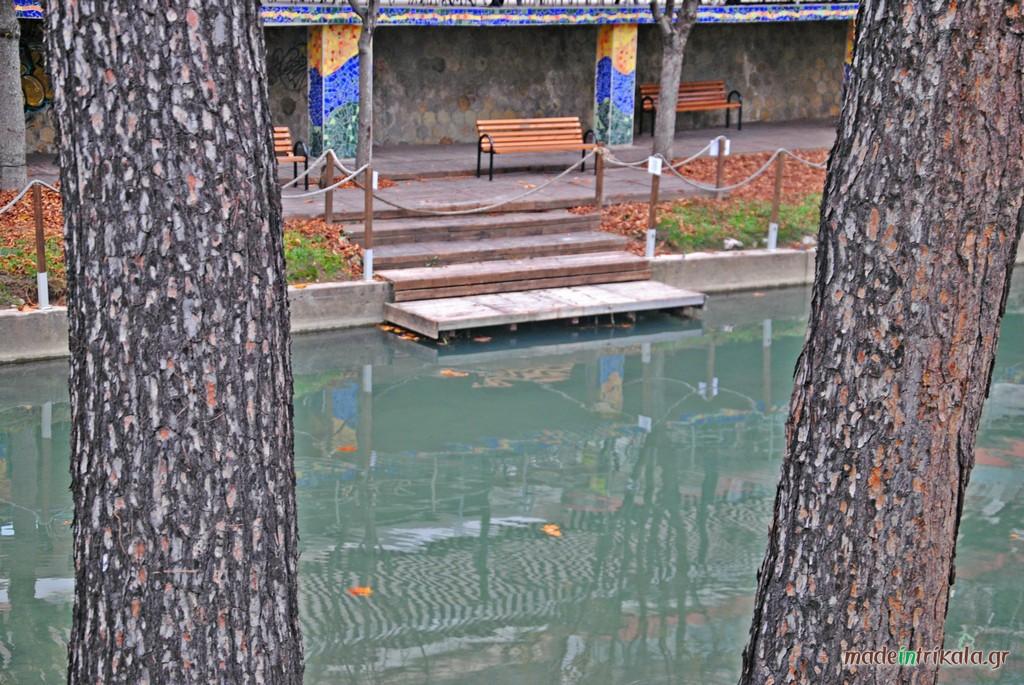 Ποταμός Ληθαίος Τρίκαλα, προκυμαία