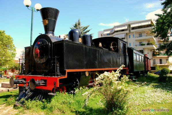 παλιό τρένο Καρβουνιάρης Τρίκαλα