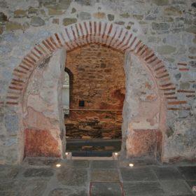 Οθωμανικά Λουτρά Τρίκαλα εσωτερικό