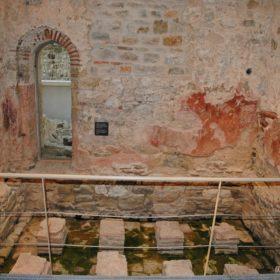 Τρίκαλα Οθωμανικά Λουτρά εσωτερικός χώρος