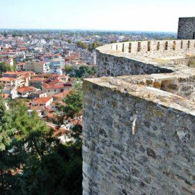 Κάστρο Τρικάλων, φρούριο Τρίκαλα, τα τείχη