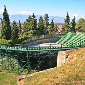 κάστρο Τρικάλων, φρούριο Τρίκαλα, υπαίθριο θέατρο