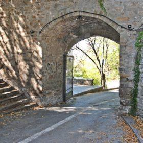 φρούριο Τρίκαλα, κάστρο Τρικάλων, η κύρια είσοδος
