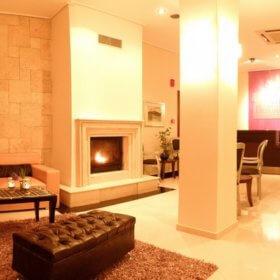 Ξενοδοχείο Μετεωρίτης Καστράκι, καθιστικό