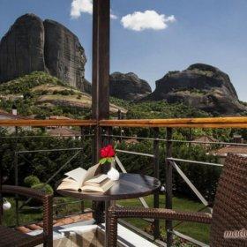 Ξενοδοχείο Μετεωρίτης Καστράκι Καλαμπάκας, δωμάτιο με θέα