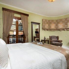 ξενοδοχείο Καστράκι Καλαμπάκα, δωμάτιο με θέα τα Μετέωρα