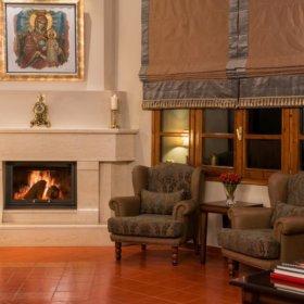Hotel Kastraki Kalampaka, living room
