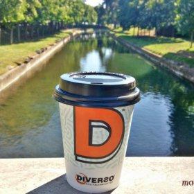 καφές στο ποτάμι των Τρικάλων