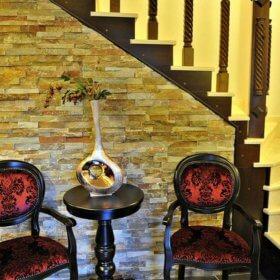 Καστράκι ξενώνας Βαβίτσας, εσωτερικό