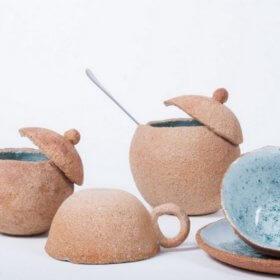 Maro Theodorou art studio, ceramics Kalampaka