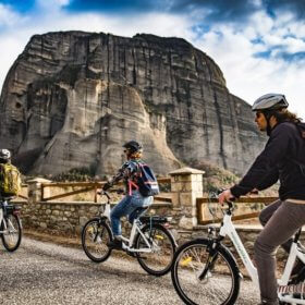 Meteora bike rental & tours, Meteora Ebike