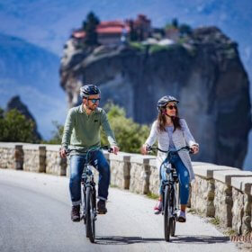 Meteora bike rental, Ebike