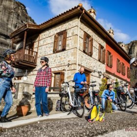 Meteora bike rental, organized bike tours