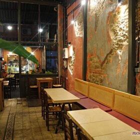 Solo Πίτσα Τρίκαλα, εσωτερικό