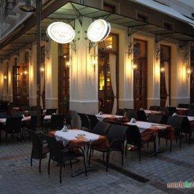 ιταλικό εστιατόριο Da Vinci, Τρίκαλα, εξωτερικά