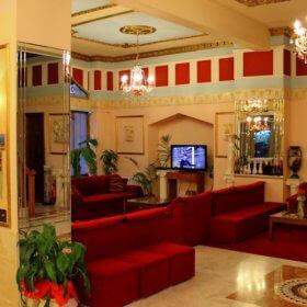 Ξενοδοχείο Φαμίση Κώστα, σαλόνι