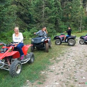 Kerketio extreme sports Pertouli, gourounes ATV