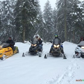 Kerketio extreme sports Pertouli, snowmobiles