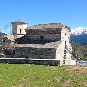 Ελάτη, Περτούλι, Τσιούκα Μοναστήρι Αγίας Παρασκευής Πύρρα, Δέση, Ασπροπόταμος