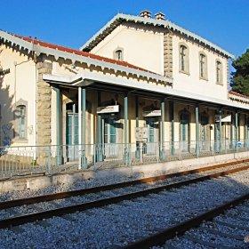 Σιδηροδρομικός σταθμός Τρικάλων, σιδηροδρομική γραμμή