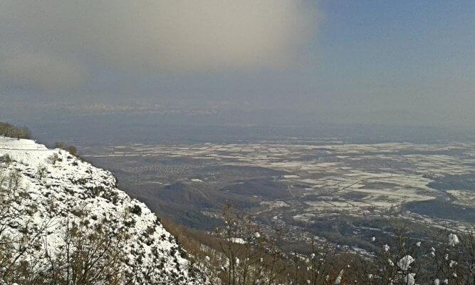 Κόρη Τρικάλων, ο κάμπος χιονισμένος