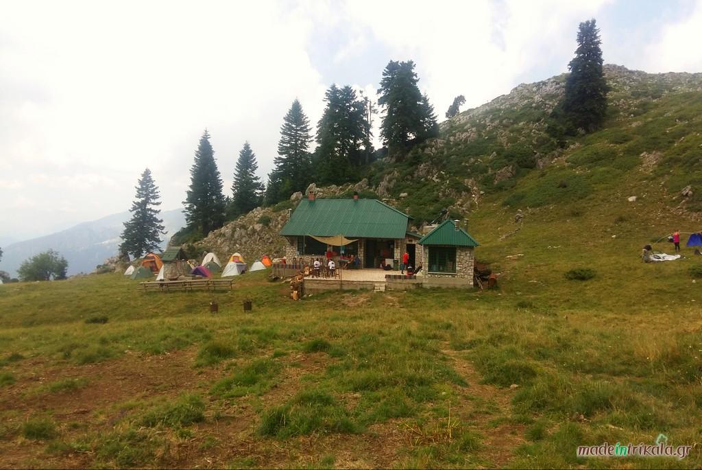 Το ορειβατικό καταφύγιο του Κόζιακα