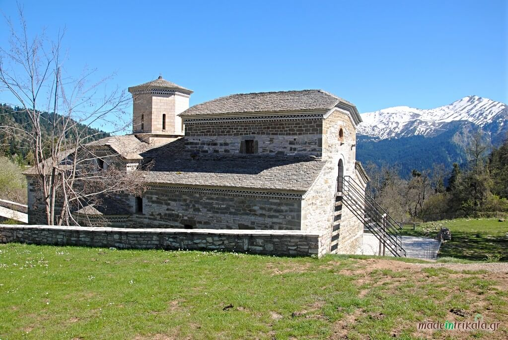 Μοναστήρι Αγίας Παρασκευής, Ασπροπόταμος Τσιούκα
