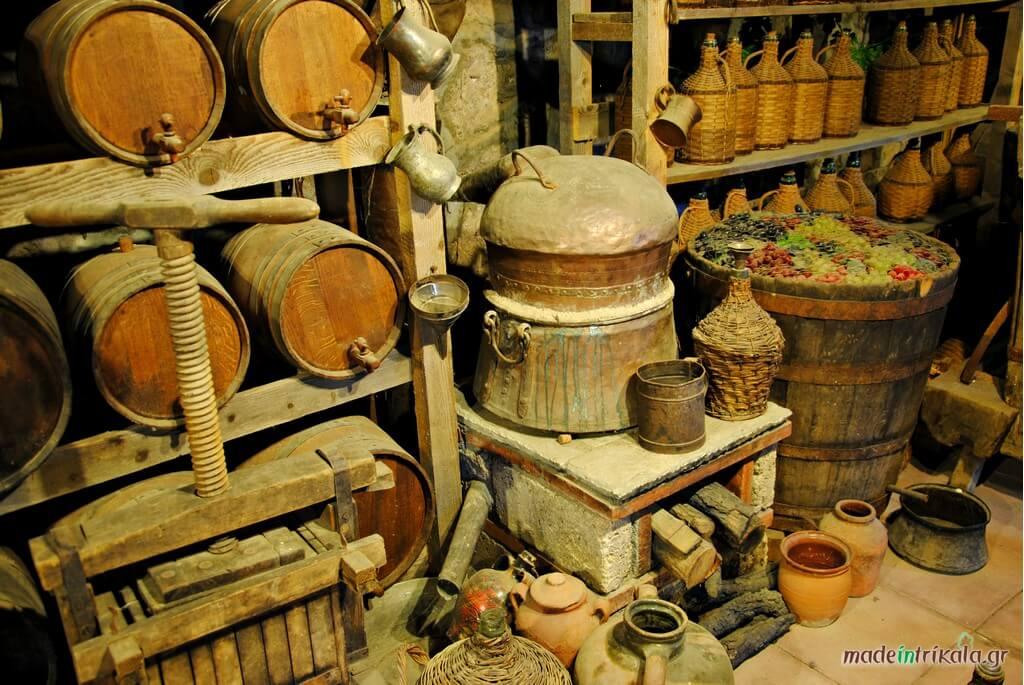 Τσίπουρο, παραδοσιακό καζάνι