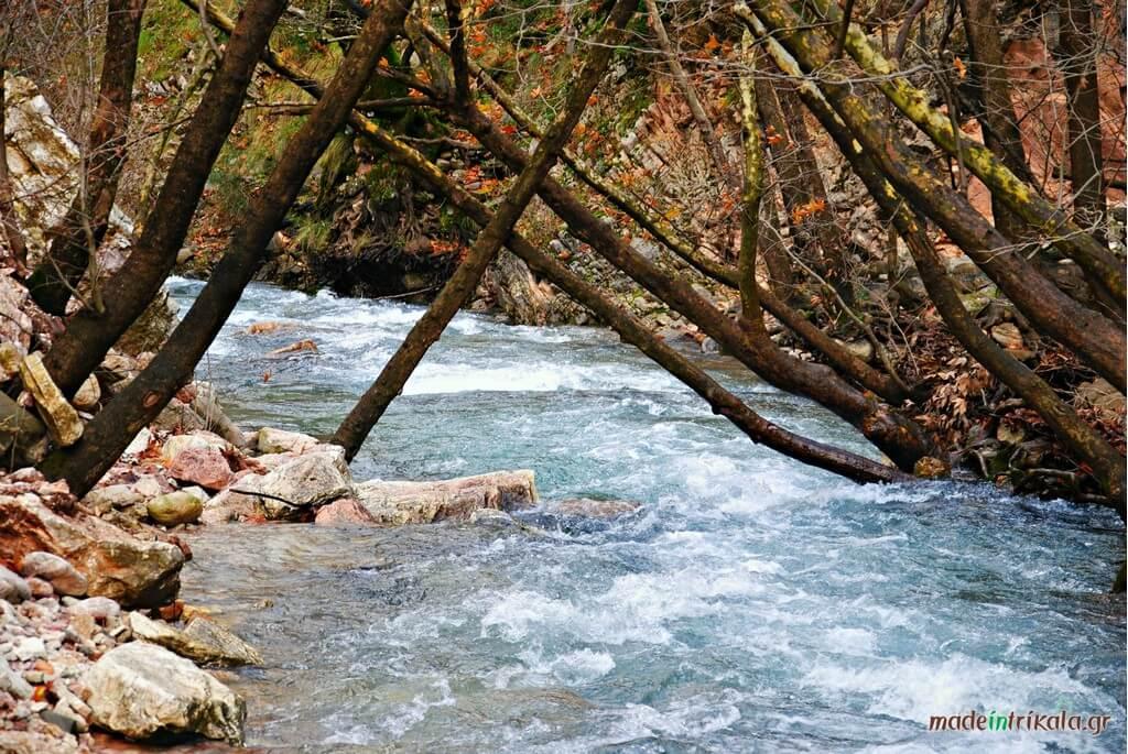 Χείμαρρος Ασπροπόταμος υδροκίνηση