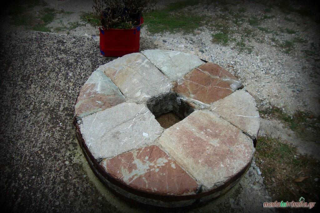 Παραδοσιακή μυλόπετρα