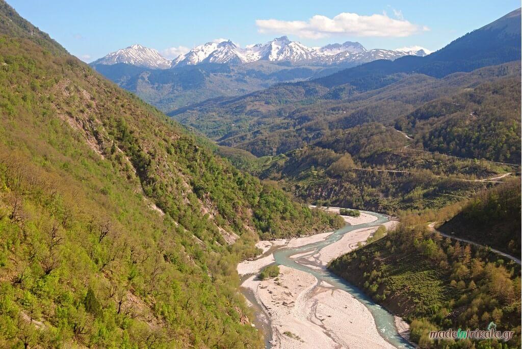 Ασπροπόταμος ή Αχελώος, Νότια Πίνδος