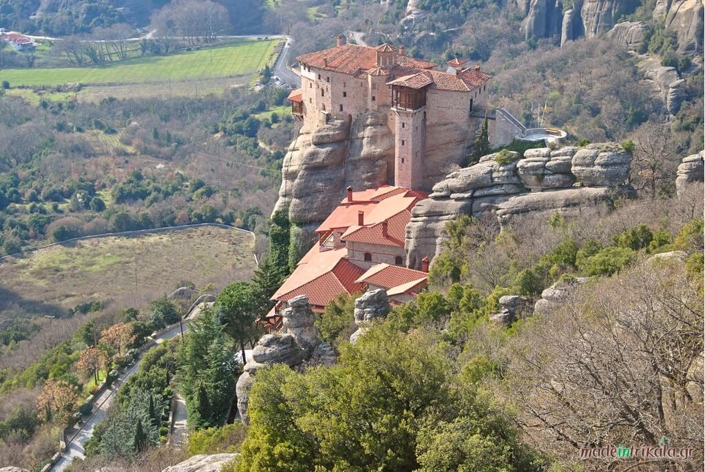 Μονή Ρουσάνου Μετέωρα