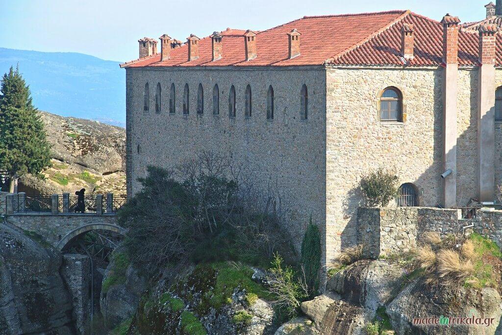 Μοναχή στη Μονή Αγίου Στεφάνου Μετεώρων